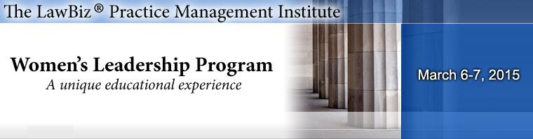 The LawBiz® Practice Management Institute - LawBiz com